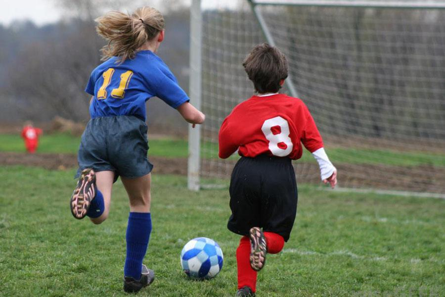 photo of girls playing soccer № 17663