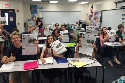 Issue 2 of The EYE hits the classrooms