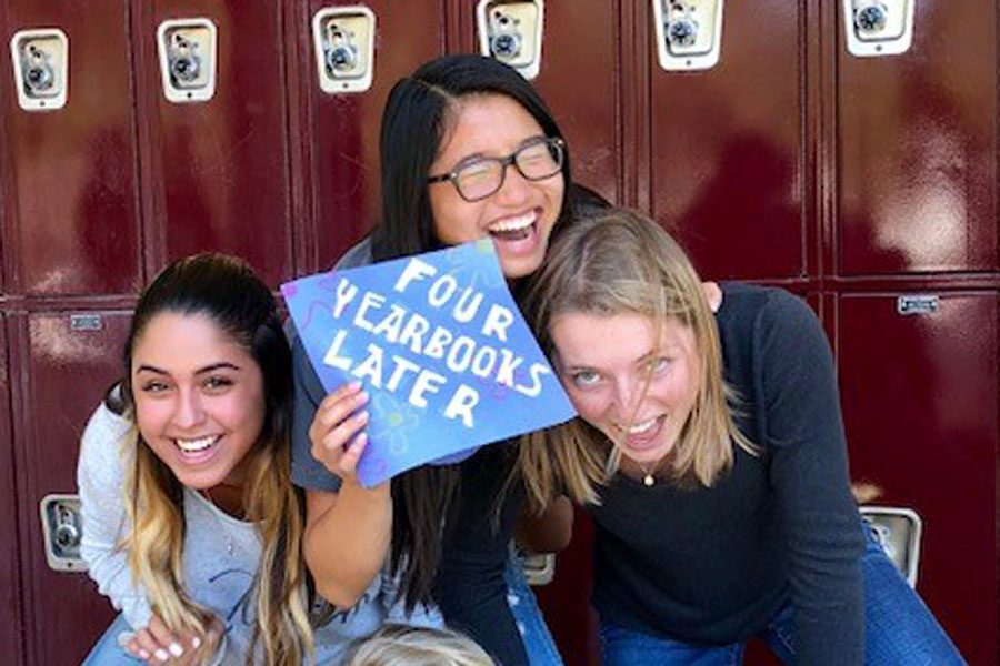Yearbooks arrive April 25