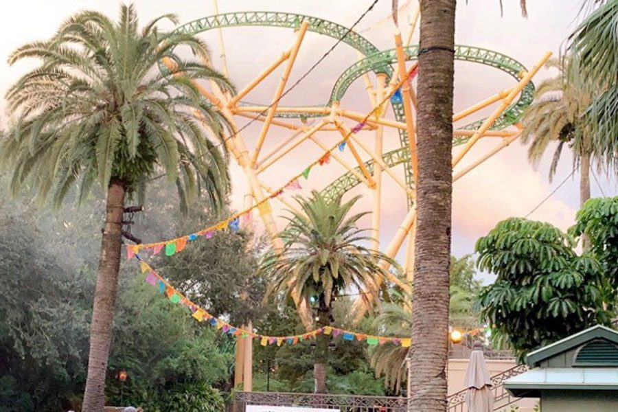 Busch Gardens right before Howl-O-Scream began.