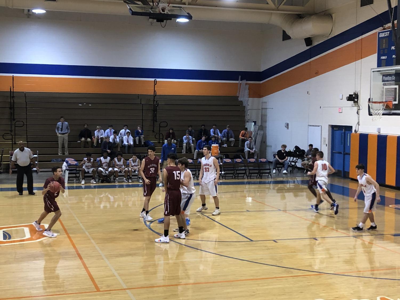 The JV team plays their first game against Osceola Fundamental High School.