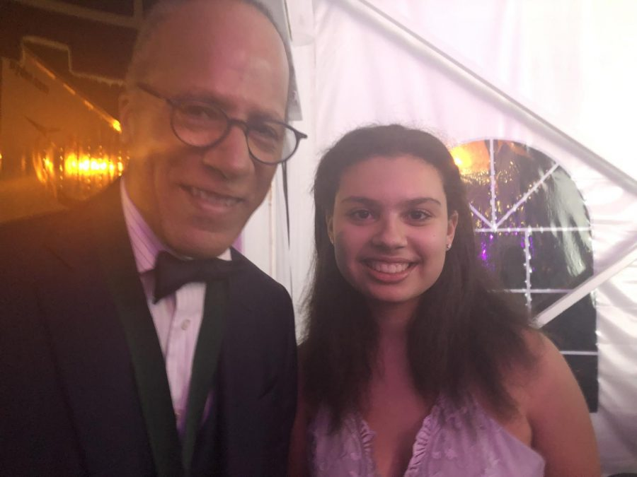Lester+Holt+and+I+at+Poynter%27s+annual+Ball.