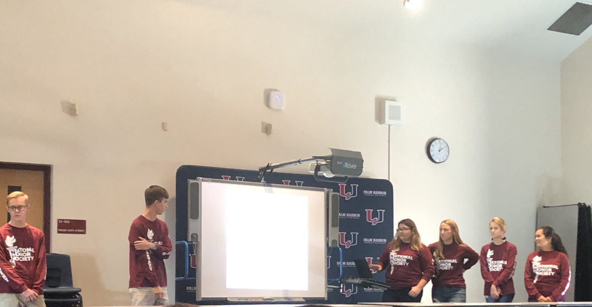 NHS officers conduct the first meeting of the year for new inductees in the TA.