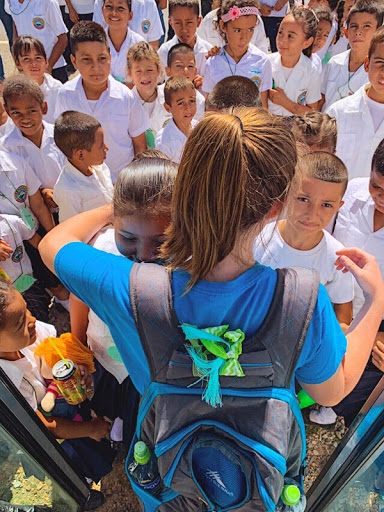 "While some people travel for fun, others travel help out another community. Erica Fig ('22) traveled to Honduras with her Church on a mission trip. ""I was in a little village called La Bolsa in Honduras, and the best part was working in the village building things and playing with the kids on our breaks,"" Fig said. Fig got to build relationships with kids in Honduras and also got to help out their community at the same time."