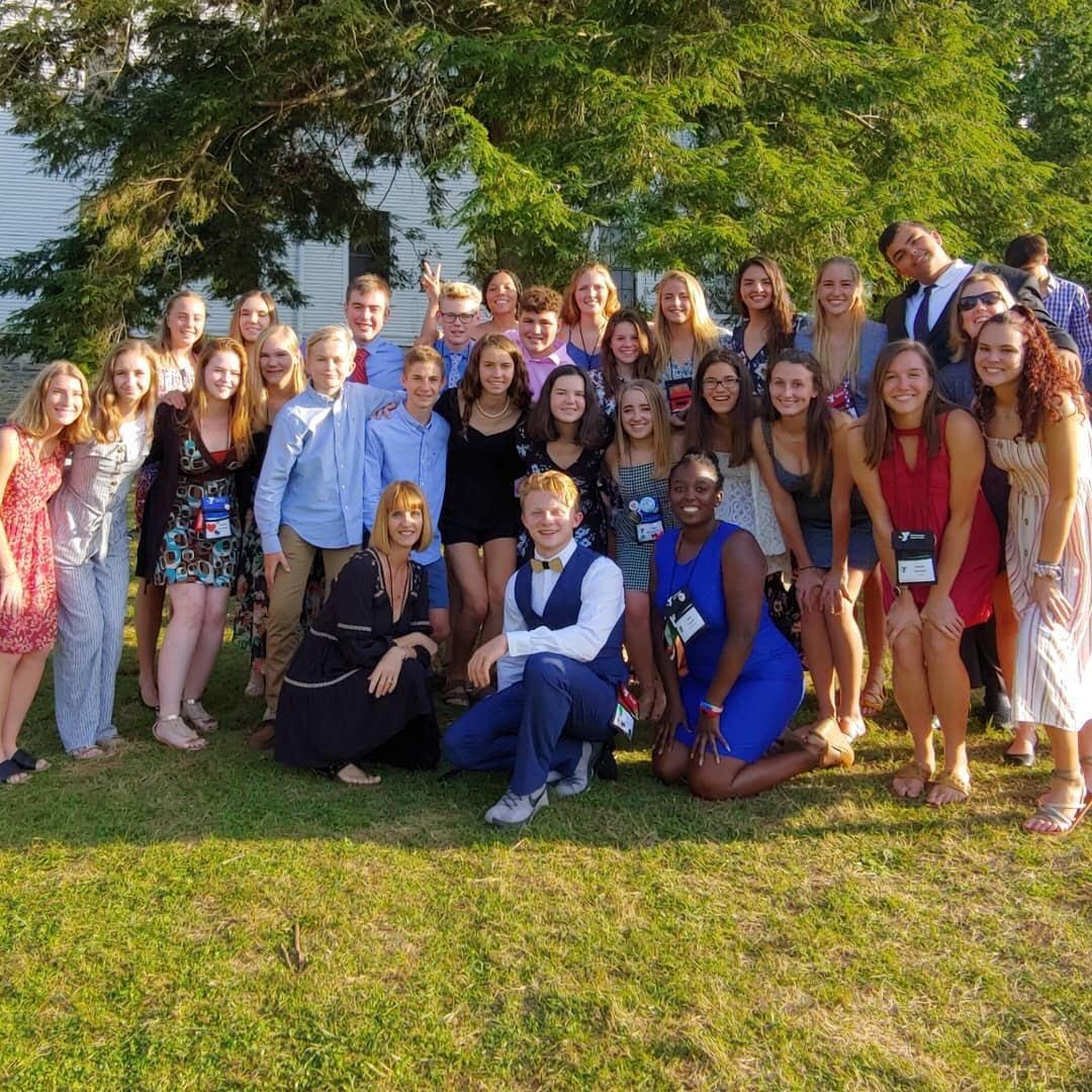 The YMCA Suncoast Association at Blue Ridge Leaders School.