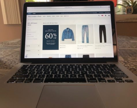 Abercrombie has been emailing customers with alerts of sales ranging from 30% off to 60% off.