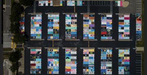 As seniors are looking forward to getting a parking spot, let's reflect on 2019's paintings.